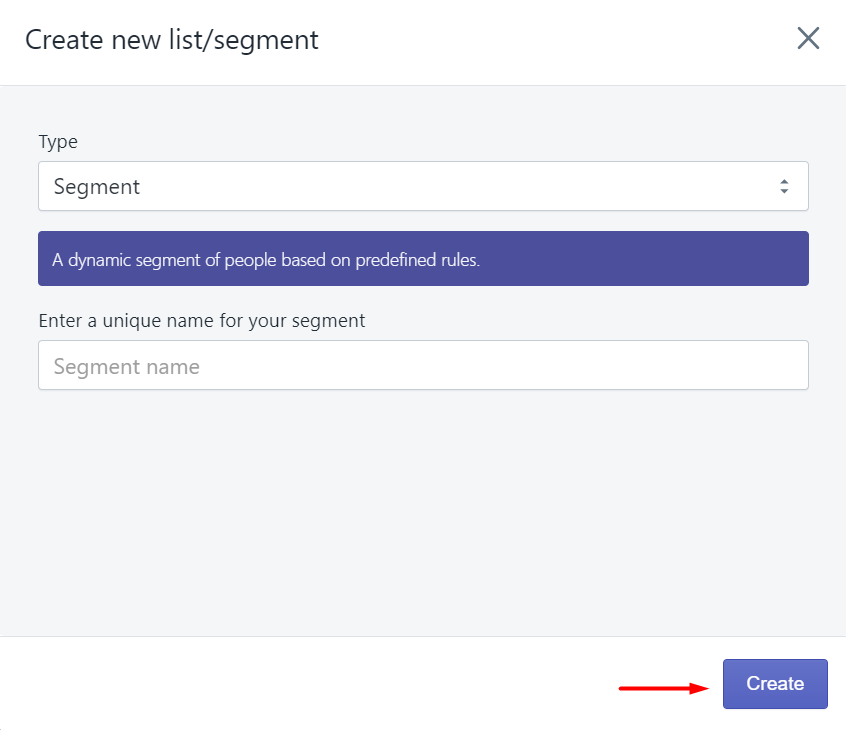 create_new_list_segment_SMSBump