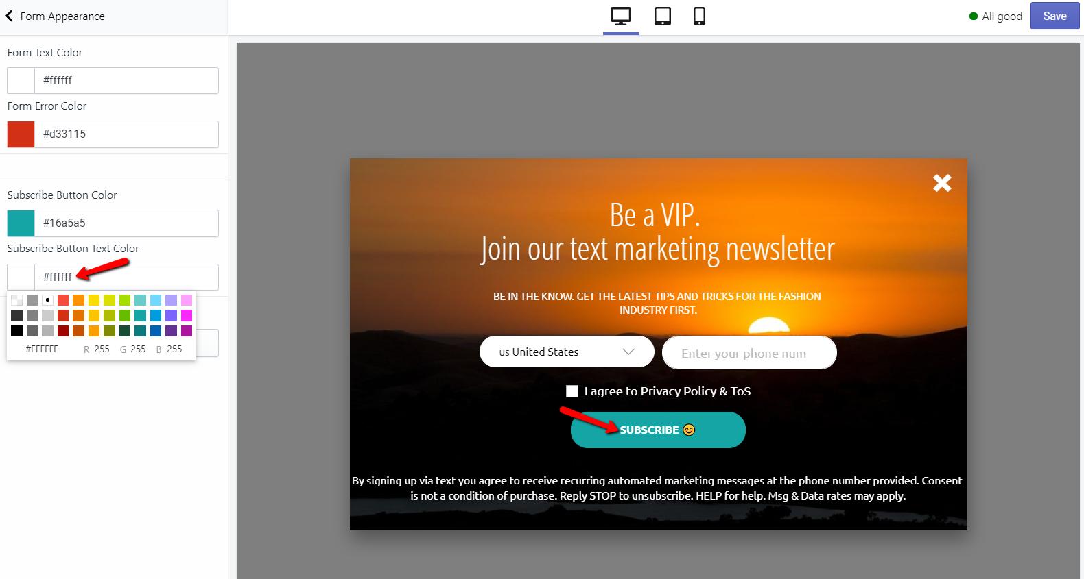 subscribe_button_text_color_SMSBump