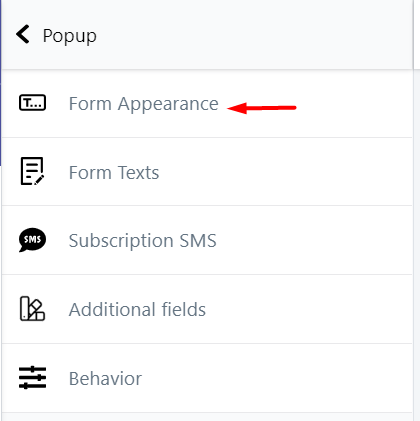 SMSBump_form_appearance_embed_form
