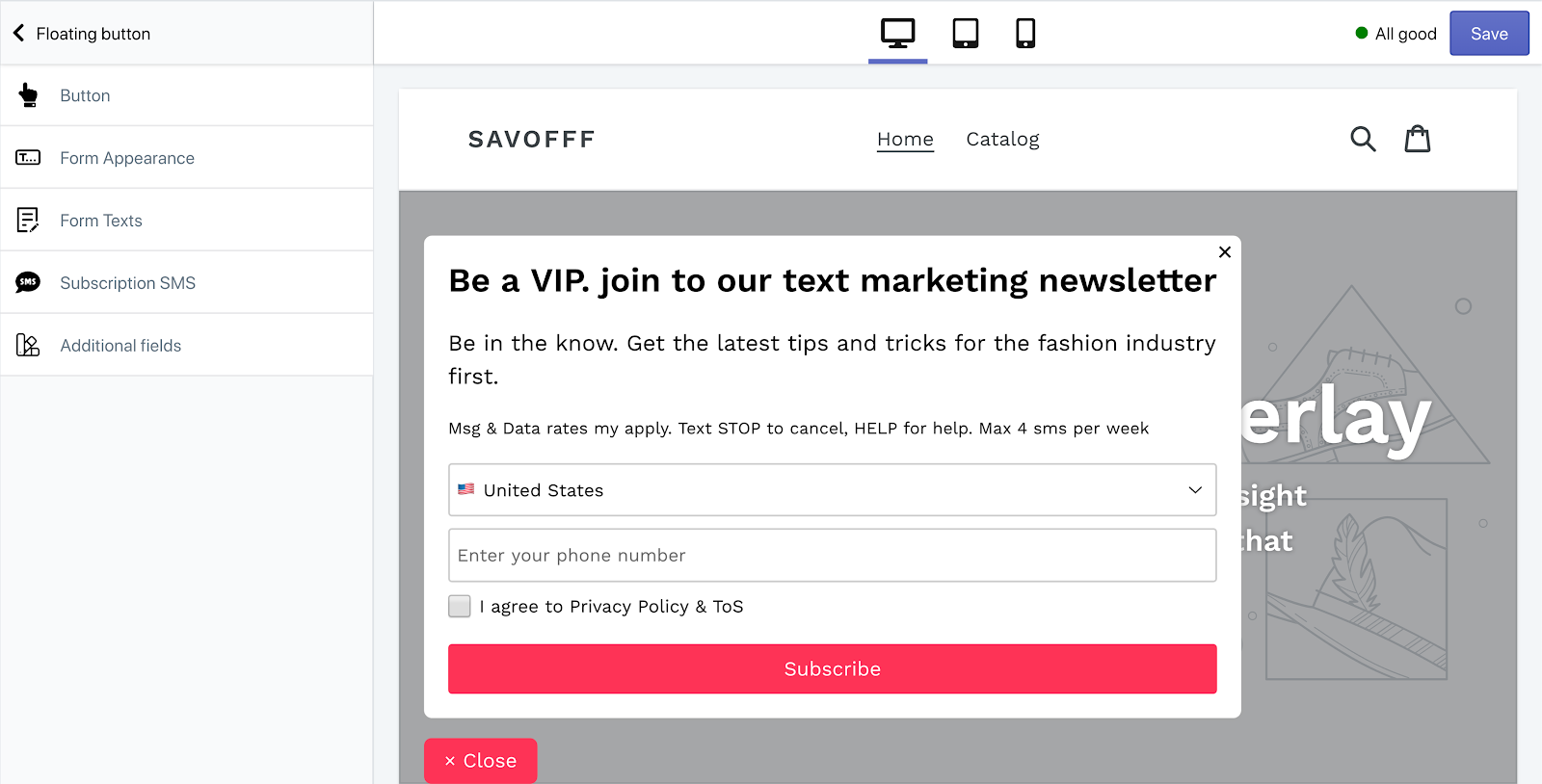 floating_button_subscription_form_SMSBump