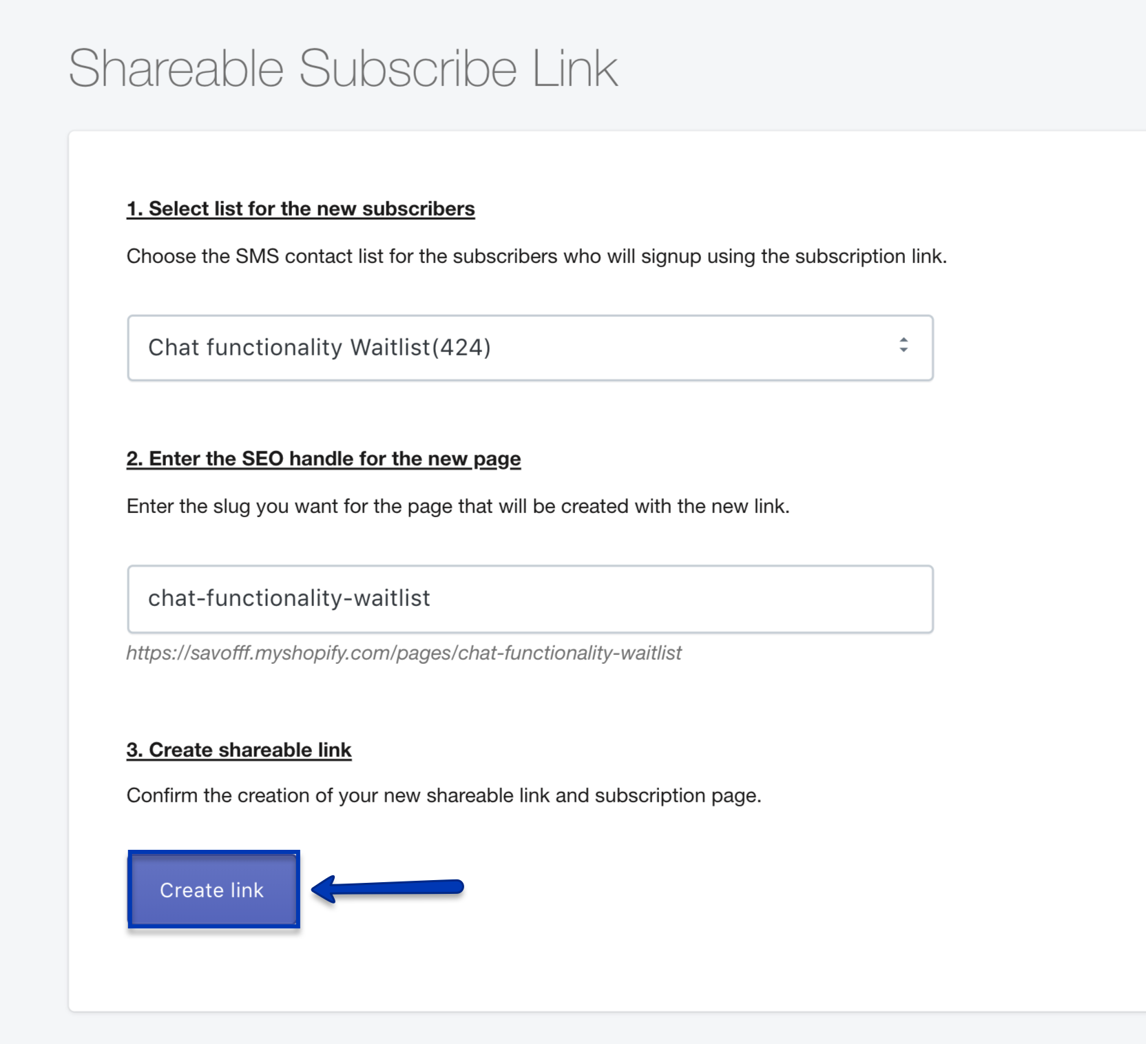 4-create-link-shareable-smsbump