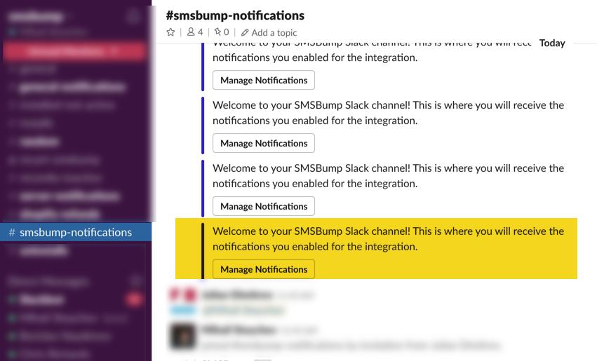 smsbump-notifications-slack