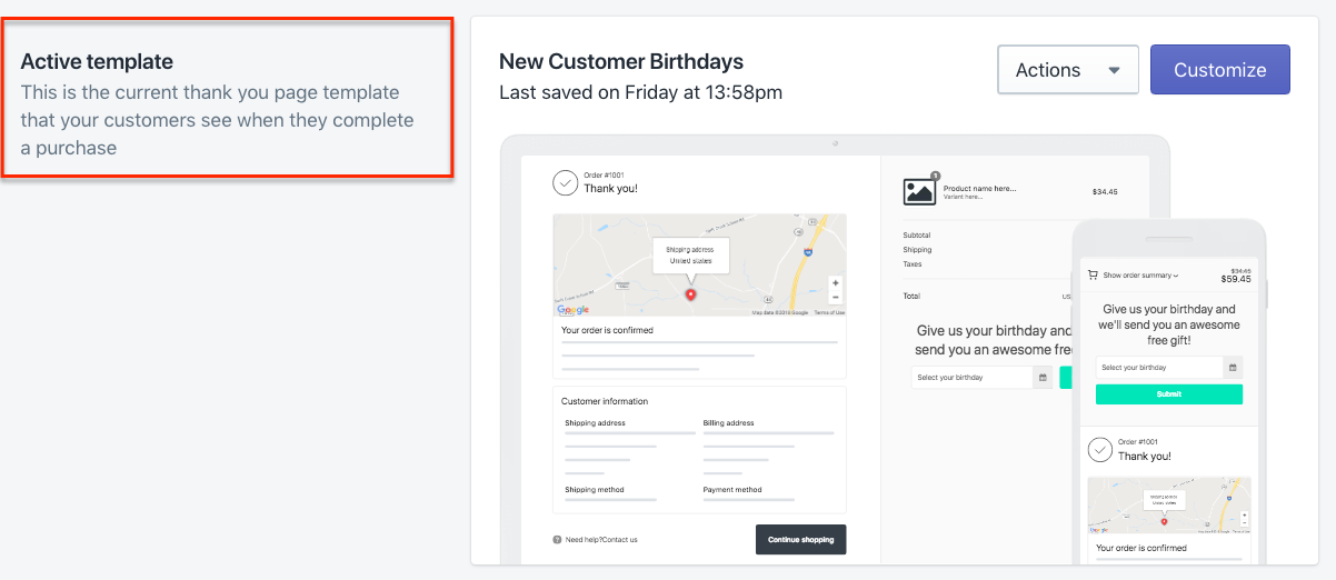 Publish Preview Your Birthday Form