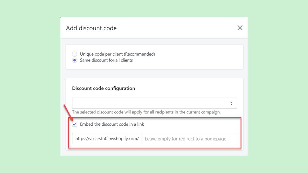 adding_a_discount_embedding_link_SMSBump