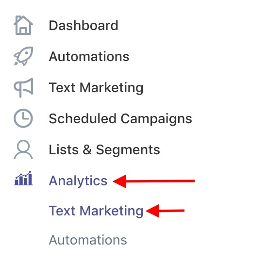 SMSBump Text Marketing Analytics | Get started with SMS Marketing Campaign analytics in Shopify
