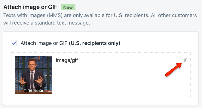 Dismiss Giphy gif to select a new one.