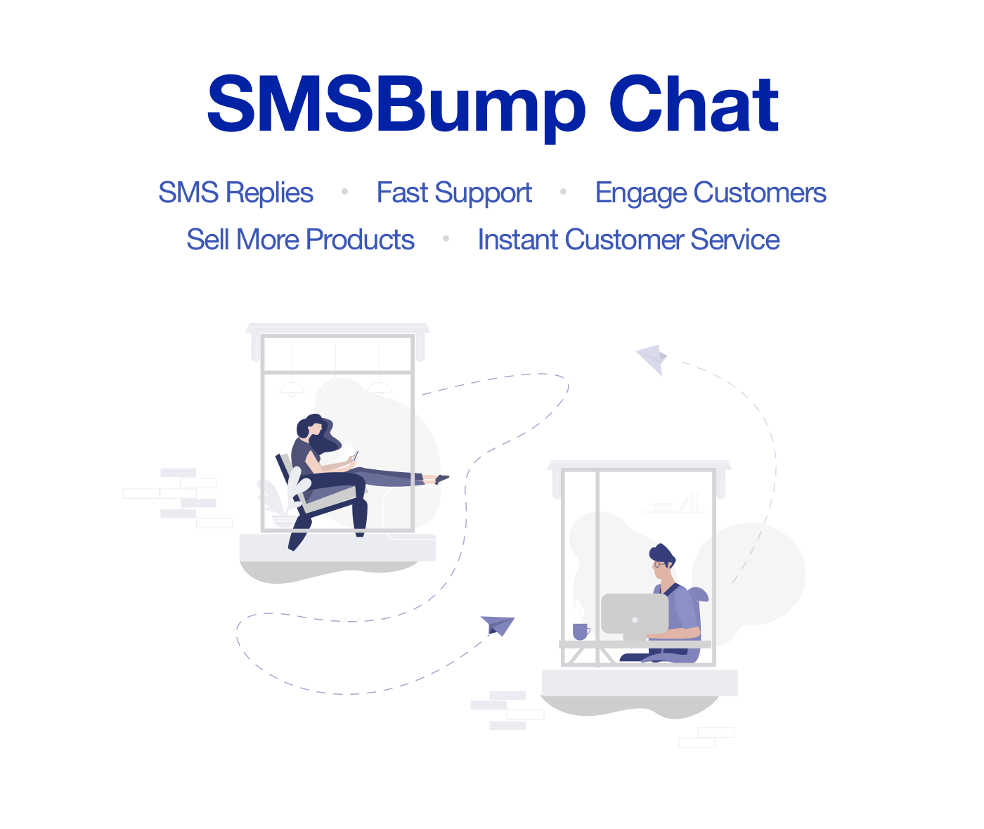 SMSBump Chat: Start texting with customers on mobile from your Shopify store
