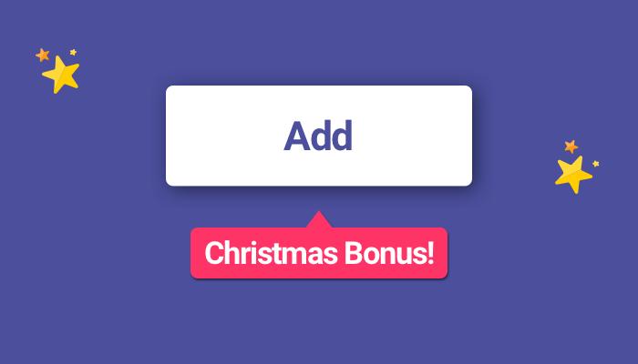 SMSBump Christmas Bonus for Shopify Merchants