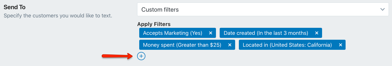 Combine Multiple Custom Shopify Customer Filters