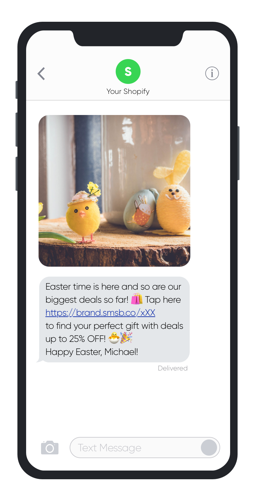 SMSBump SMS Customer Retention Easter Automations