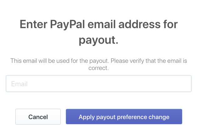 Enter PayPal account email address to receive your SMSBump affiliate commission in Shopify.
