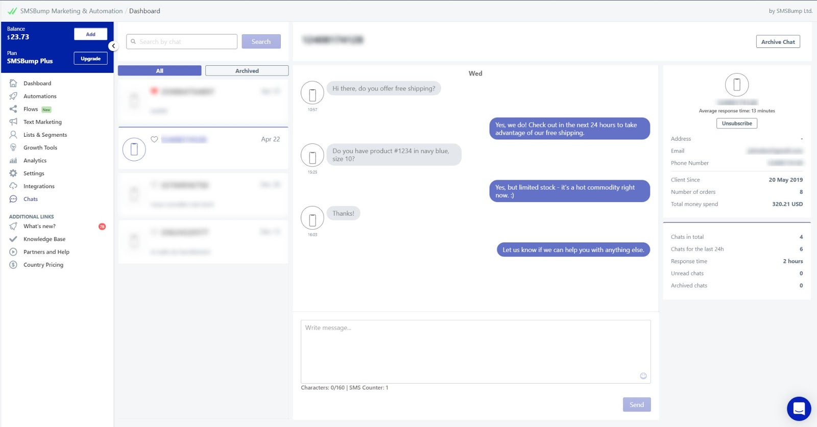 SMSBump_chat_Reamaze