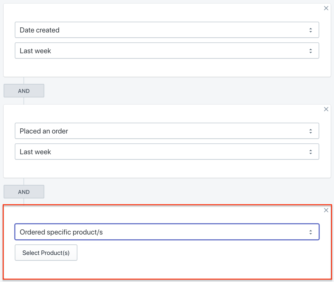 Segment Product Interest for New Shopify Customers