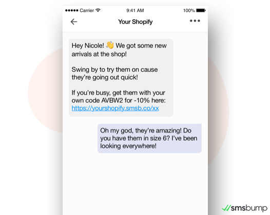 Receive Text Message Replies from Customers to Your SMS Marketing Deals & Offers