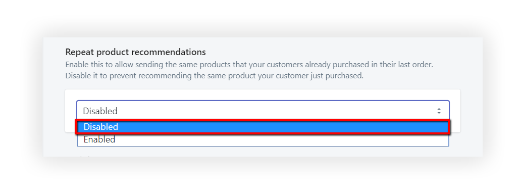 Product Upsell Automation Repeat Product Recommendation
