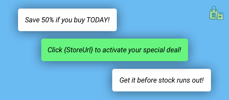 Black Friday SMS Marketing CTA