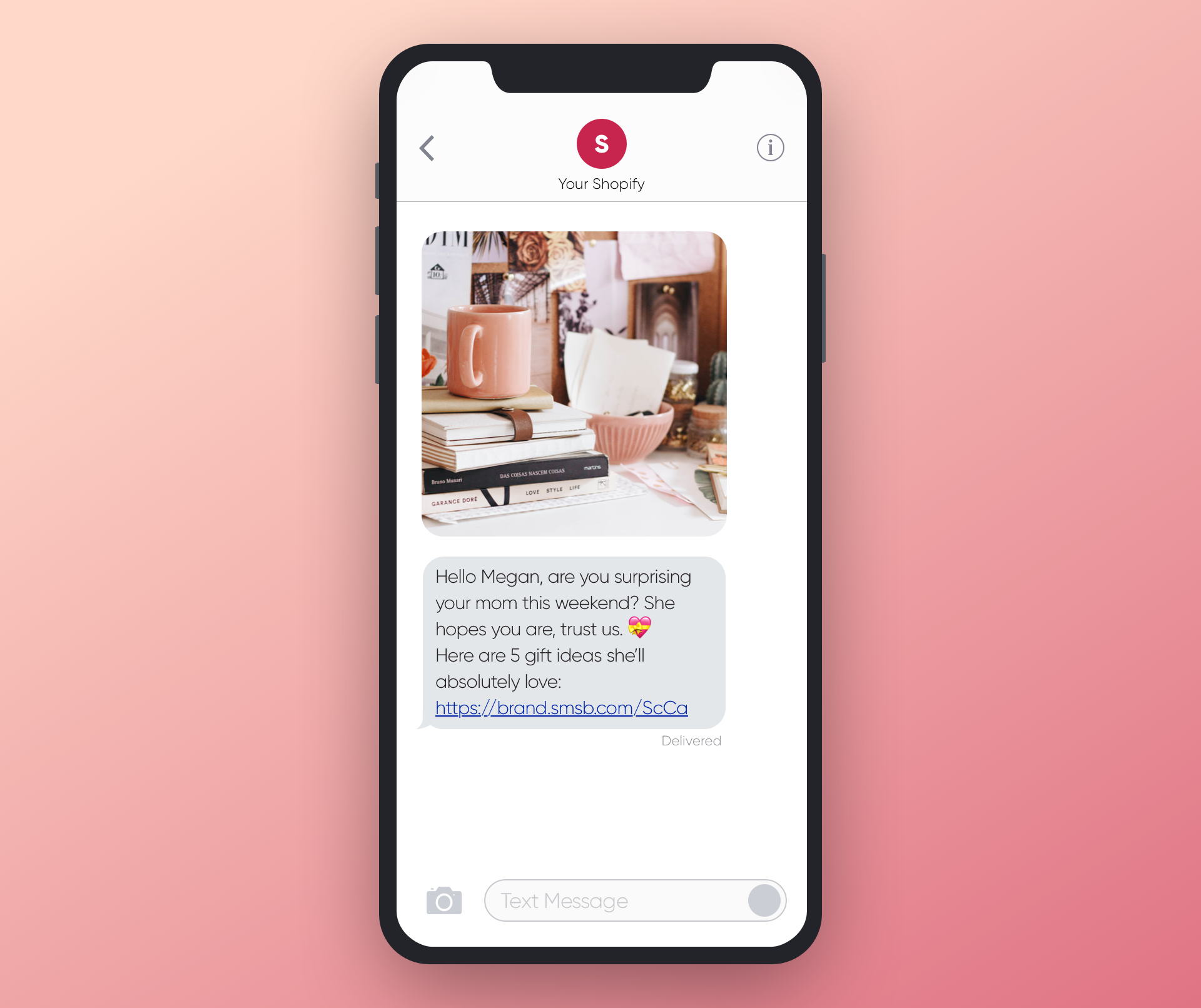 SMSBump Mother's Day SMS Marketing Inspiration for Shopify