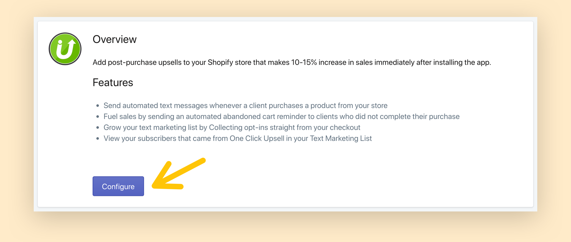 OCU and SMSBump Integration for Shopify: Automate Abandoned Cart SMS Recovery