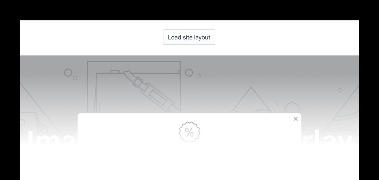 SMSBump Signup Form Live Shopify Website Design Preview