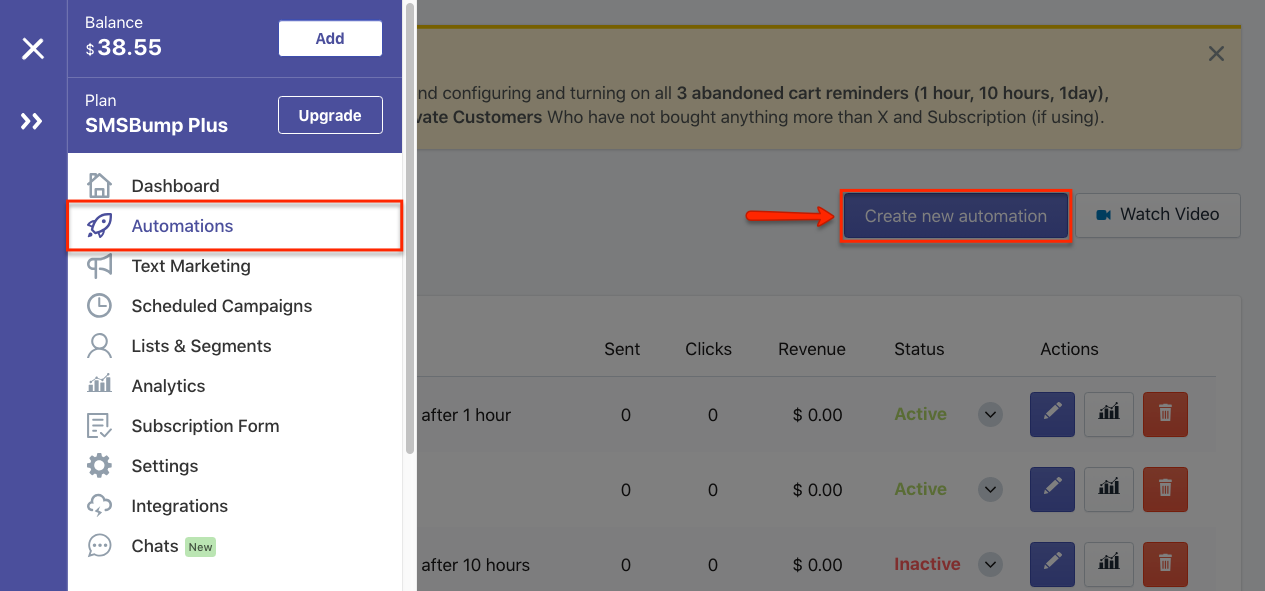 Add Giphy Gifs to SMS Marketing Automations in Shopify