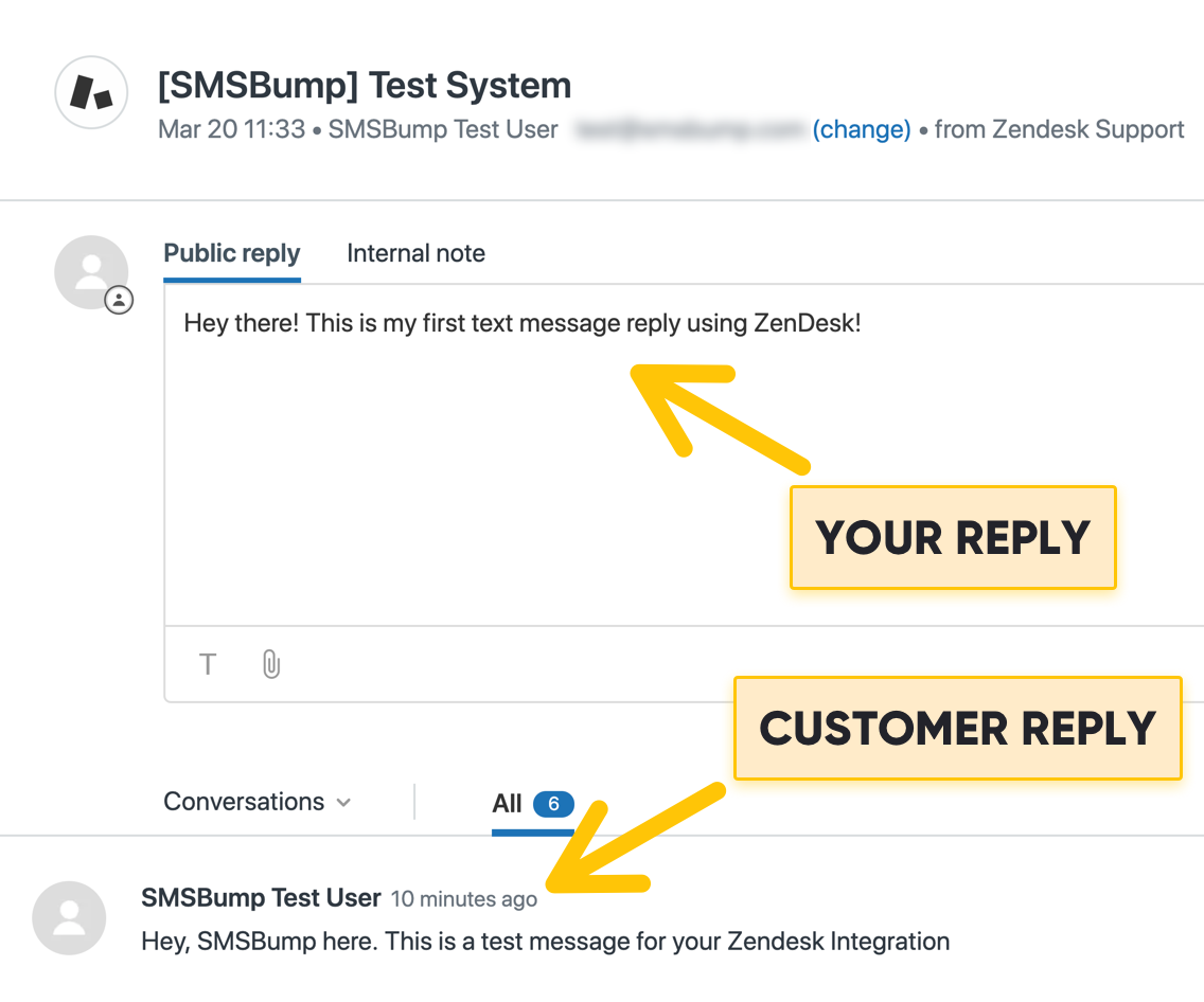 Don't Miss a Text with the New Zendesk & SMSBump Integration