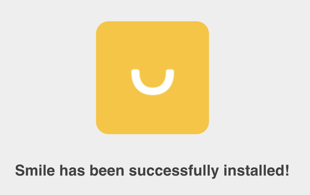 success_smile_installed_SMSBump