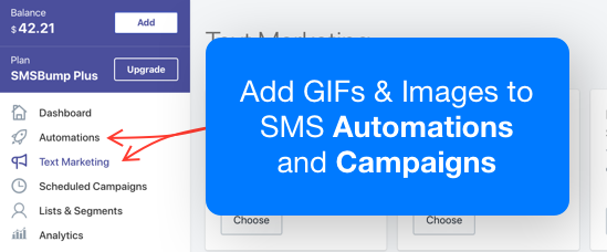 SMSBump: MMS messages now available for SMS Automations & Text Marketing Campaigns in Shopify