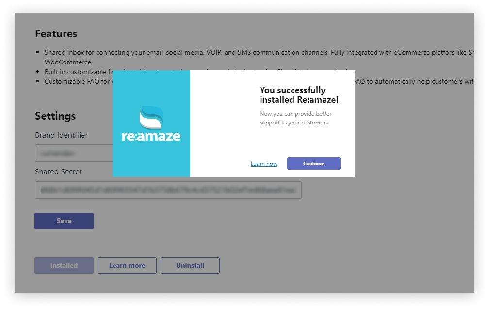 Reamaze_SMSBump_connected